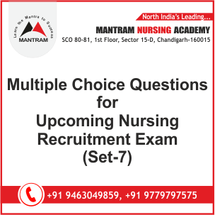 Multiple Choice Questions with Answer for Upcoming Nursing